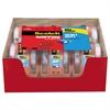 "3850 Heavy-Duty Packaging Tape in Sure Start Disp., 1.88"" x 800"", Clear, 6/Pack"