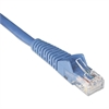 CAT6 Snagless Molded Patch Cable, 1 ft, Blue