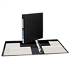 "Heavy-Duty Binder with One Touch EZD Rings, 11 x 8 1/2, 1"" Capacity, Black"