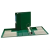 "Heavy-Duty Binder with One Touch EZD Rings, 11 x 8 1/2, 4"" Capacity, Green"