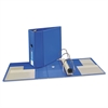 "Heavy-Duty Binder with One Touch EZD Rings, 11 x 8 1/2, 5"" Capacity, Blue"