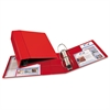 "Heavy-Duty Binder with One Touch EZD Rings, 11 x 8 1/2, 4"" Capacity, Red"