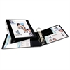 "Heavy-Duty View Binder w/Locking 1-Touch EZD Rings, 2"" Cap, Black"