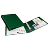 "Heavy-Duty Binder with One Touch EZD Rings, 11 x 8 1/2, 1"" Capacity, Green"