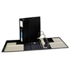 "Heavy-Duty Binder with One Touch EZD Rings, 11 x 8 1/2, 5"" Capacity, Black"