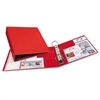 "Heavy-Duty Binder with One Touch EZD Rings, 11 x 8 1/2, 2"" Capacity, Red"