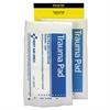 SmartCompliance Refill Trauma Pad, 5 x 9, White, 2/Bag
