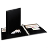 "Durable Binder with Two Booster EZD Rings, 11 x 8 1/2, 1"", Black"
