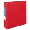 "Heavy-Duty Binder with One Touch EZD Rings, 11 x 8 1/2, 3"" Capacity, Red"