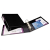 "Heavy-Duty Binder with One Touch EZD Rings, 11 x 8 1/2, 2"" Capacity, Black"