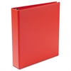 "Heavy-Duty Binder with One Touch EZD Rings, 11 x 8 1/2, 1 1/2"" Capacity, Red"