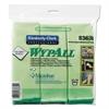 Microfiber Cloths, Reusable, 15 3/4 x 15 3/4, Green, 6/Pack