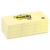 Original Pads in Canary Yellow, 1 1/2 x 2, 100-Sheet, 12/Pack