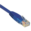 CAT5e Molded Patch Cable, 14 ft., Blue