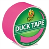 "Colored Duct Tape, 9 mil, 1.88"" x 15 yds, 3"" Core, Neon Pink"