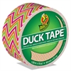 "Colored Duct Tape, 9 mil, 1.88"" x 10 yds, 3"" Core, Zig Zag"