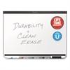 Prestige DuraMax Magnetic Porcelain Whiteboard, 96 x 48, Black Frame
