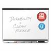Prestige DuraMax Magnetic Porcelain Whiteboard, 72 x 48, Black Frame