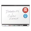 Prestige DuraMax Magnetic Porcelain Whiteboard, 48 x 36, Black