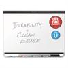 Prestige DuraMax Magnetic Porcelain Whiteboard, 96 x 48, Silver Frame