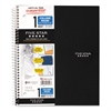 Wirebound Notebook, College Rule, 11 x 8 1/2, 100 Sheets, Assorted