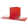 "SuperStrength Locking Slant-D Ring Binder, 5"" Cap, 11 x 8 1/2, Red"