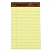 """The Legal Pad"" Ruled Perforated Pads, 5 x 8, Canary, 50 Sheets, Dozen"