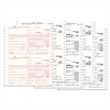 1099-MISC Tax Forms, 5-Part Carbonless, 5 1/2 x 8, 24 1099s & 1 1096