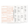 1099-Div Tax Forms, 5-Part, 5 1/2 X 8, Inkjet/laser, 48 1099s & 1 1096