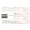 W-2 Tax Form/Envelope Kits, 8 1/2 x 5 1/2, 6-Part, Inkjet/Laser, 24 W-2s & 1 W-3