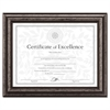 DAX Document Frame, Desk/Wall, Wood, 8-1/2 x 11, Antique Charcoal Brushed Finish