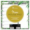 Jungle Weekly Memo Pad, 7 3/4 x 7 3/4, Assorted Color, 52 Sheets