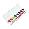 Professional Watercolors, 8 Assorted Colors,Oval Pans
