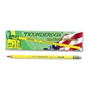 Ticonderoga Woodcase Pencil, B #1, Yellow, Dozen