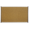 ARC Frame Cork Cubicle Board, 14 x 24, Tan, Aluminum Frame