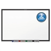 Classic Series Melamine Dry Erase Board, 60 x 36, White Surface, Black Frame