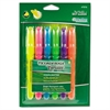 Ticonderoga Emphasis Desk Style Highlighter, Chisel Tip, 6/Set