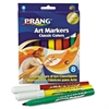 Prang Prang Classic Art Markers, Conical Tip, 8 Assorted Colors, 8/Set