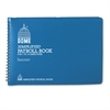 Dome Simplified Payroll Record, Light Blue Vinyl Cover, 7 1/2 x 10 1/2 Pages