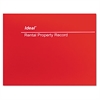 Rental Property Record Book, 8 1/2 x 11, 60-Page Wirebound Book