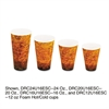 Foam Hot/Cold Cups, 20oz, Brown/Black, 500/Carton