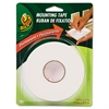 "Duck Permanent Foam Mounting Tape, 3/4"" x 15ft, White"