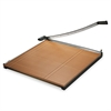 "Square Commercial Grade Wood Base Guillotine Trimmer, 20 Sheets, 30"" x 30"""