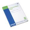Epson Ultra Premium Matte Presentation Paper, 8-1/2 x 11, White, 50/Pack