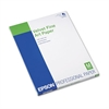 Velvet Fine Art Paper, 8-1/2 x 11, White, 20 Sheets/Pack