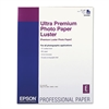 Ultra Premium Photo Paper, Luster, 17 x 22, 25 Sheets/Pack