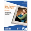 Epson Ultra-Premium Glossy Photo Paper, 79 lbs., 8-1/2 x 11, 25 Sheets/Pack