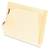Laminated Tab End Tab Folder with 2 Fasteners, 11 pt Manila, Legal, 50/Box
