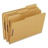Pendaflex Kraft Fastener Folders, 2 Fasteners, 1/3 Cut Tabs, Legal, 50/Box