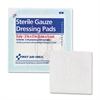 "First Aid Only Gauze Pads, 2"" x 2"", 5/Pack"